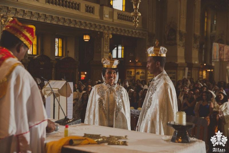 Royal African wedding