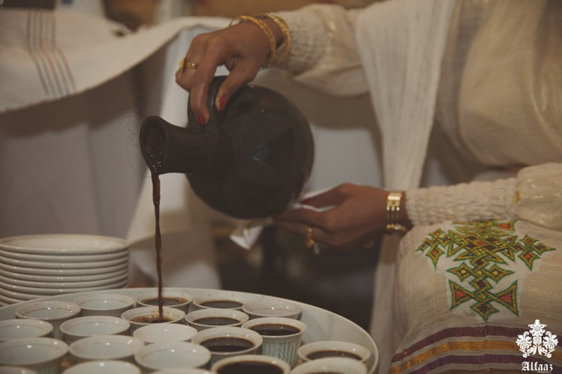 Eritrean Coffee Ceremony