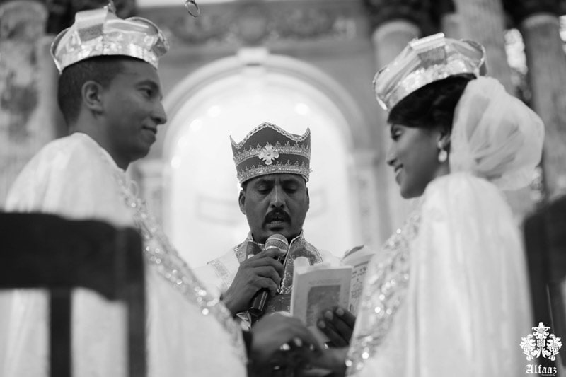 Eritrean wedding ceremony