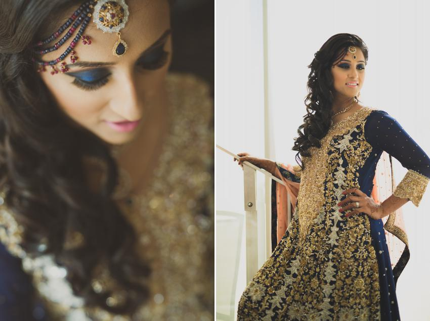 Pakistani bridal make up