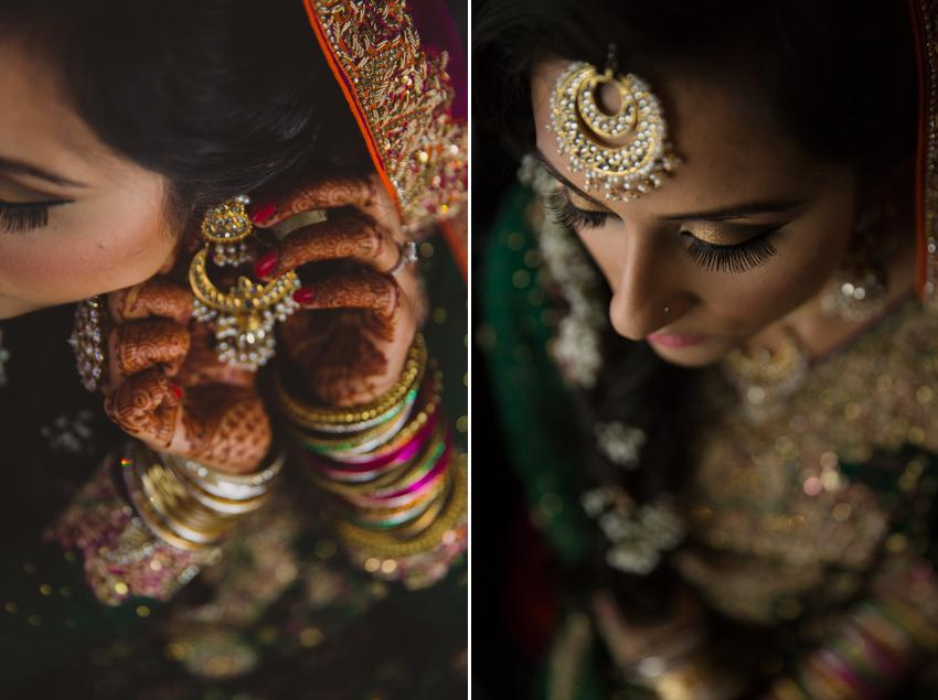 Wedding make up Pakistani Bride