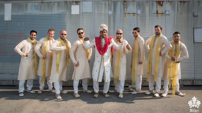 Indian Groom and Groomsmen