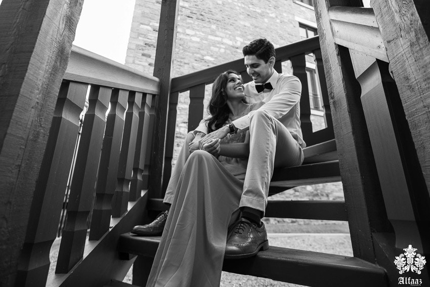 classic engagement photos taken outdoors in the morning sun. (14)