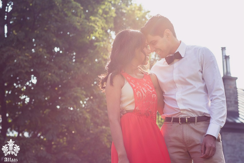 classic engagement photos taken outdoors in the morning sun. (13)