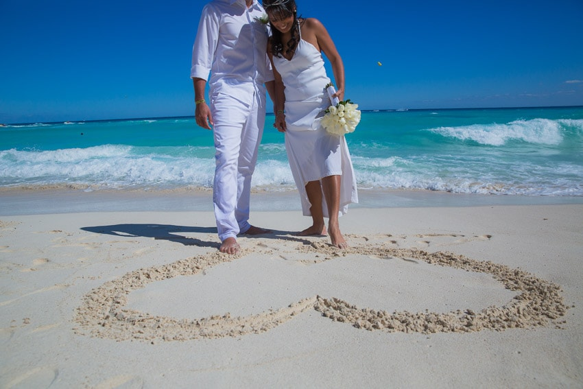Beach Weddings in Cancun