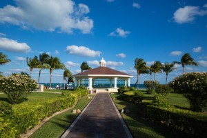 Moon Palace has a beautiful gazebo perfect for your wedding