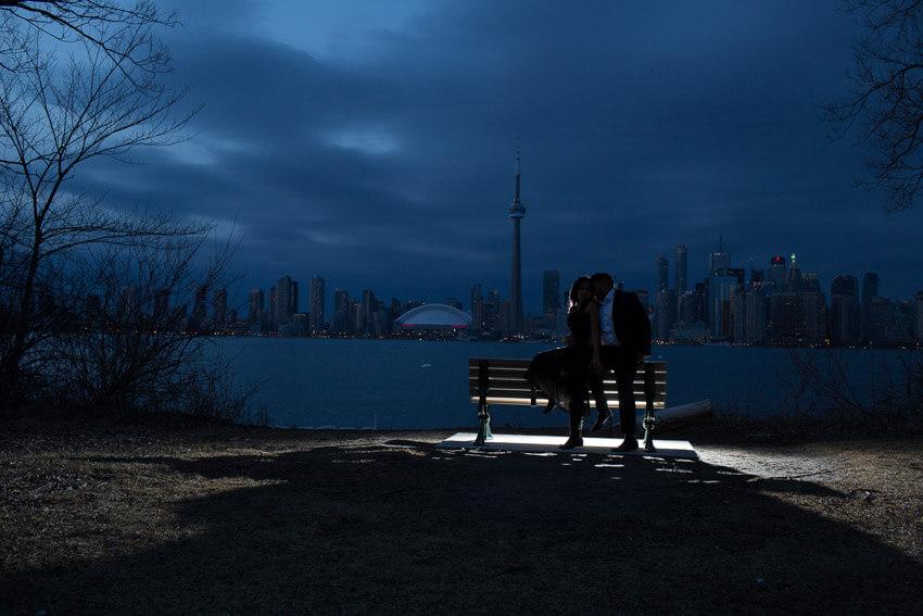 Toronto Islands Engagement photo 9