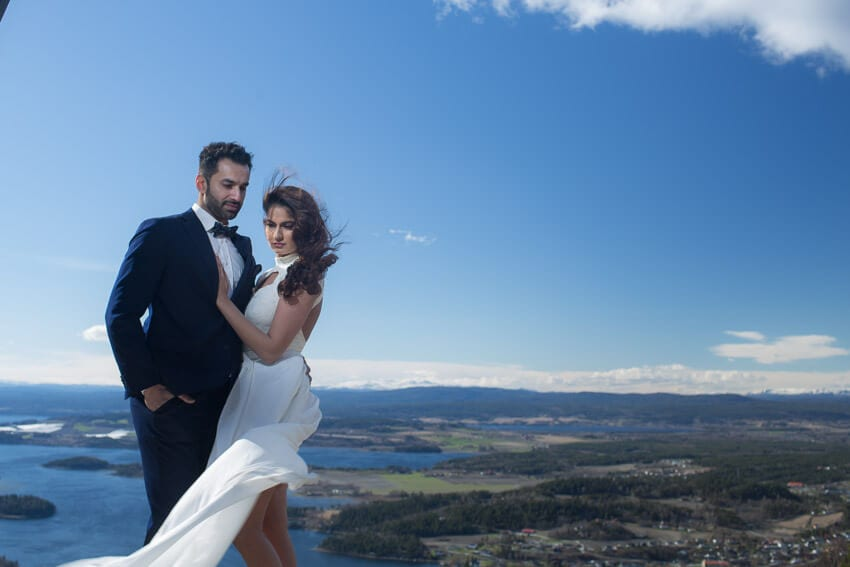 Norway bridal session photo 9