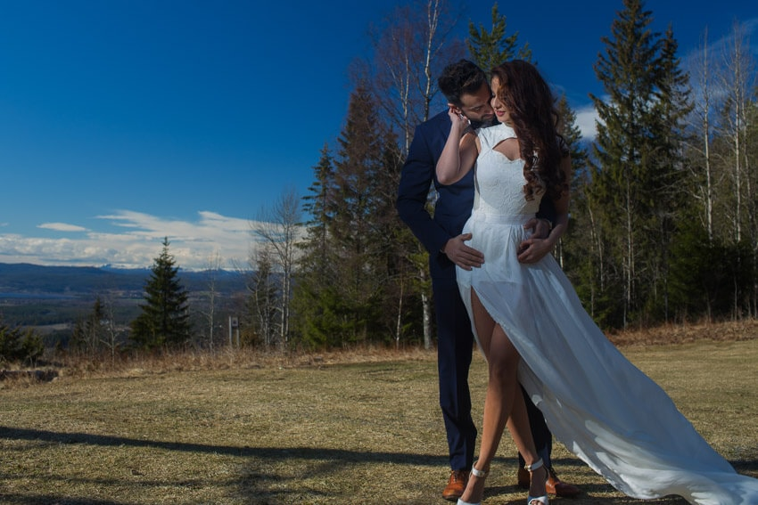 Norway bridal session photo 7