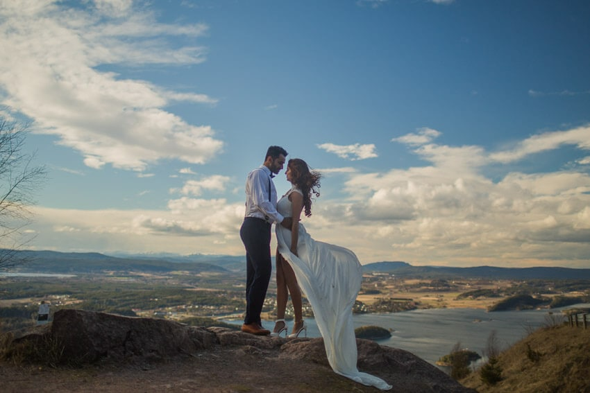Norway Bridal Session photo