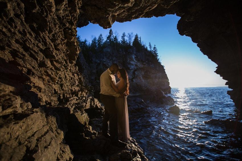 Tobermory Engagement photoshoot