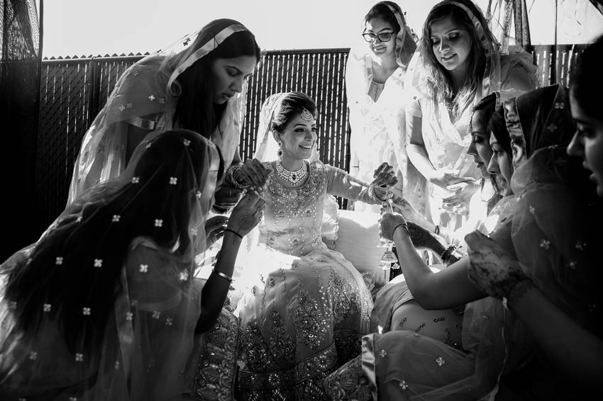 Bridesmaids-outfits-Indian-wedding-montreal