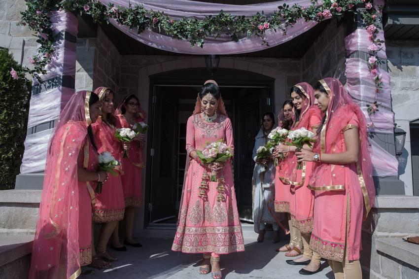 Bride-walking-out-Weddings-Westisland-Montreal