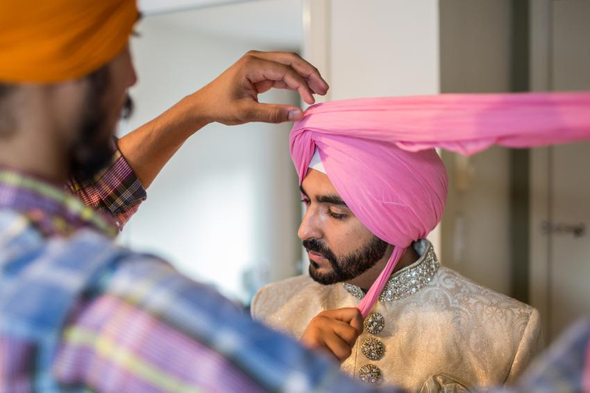 Punjabi-Turban-Groom-Traditional-Attire