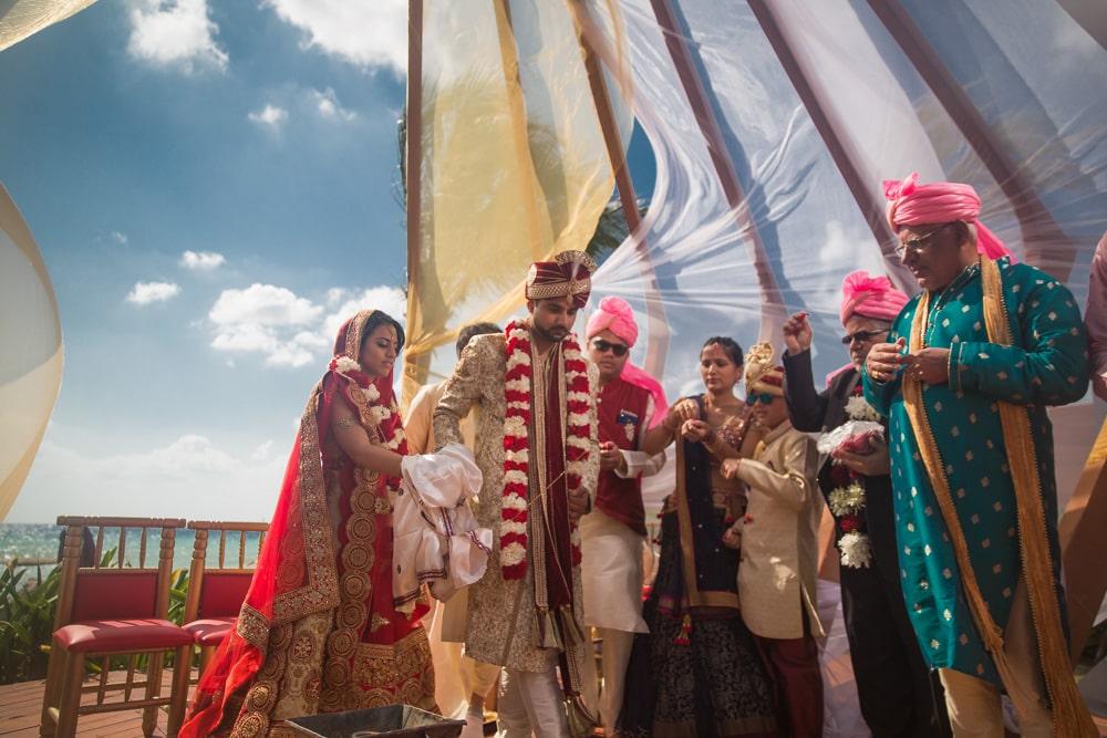 Azul Fives Indian Weddings Cancun 1573