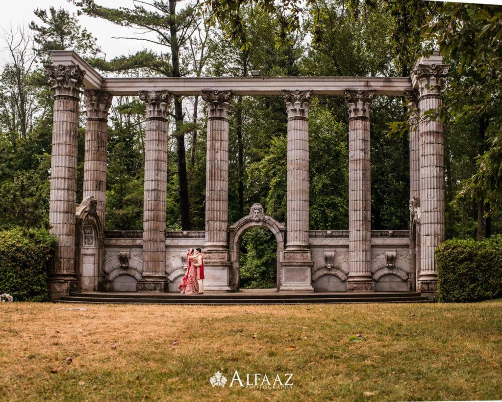 Outdoor-Indian-Hindu-Wedding-Guild-Inn-Estate-Ceremony