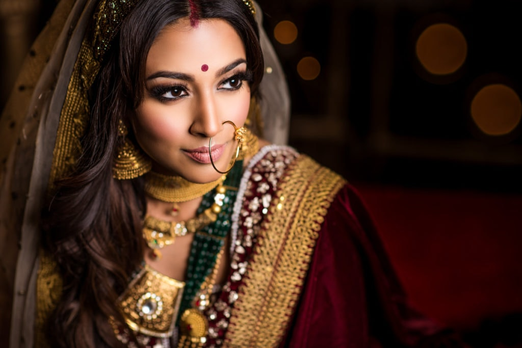 Lesonne Bridals Makeup artists Toronto Indian weddings