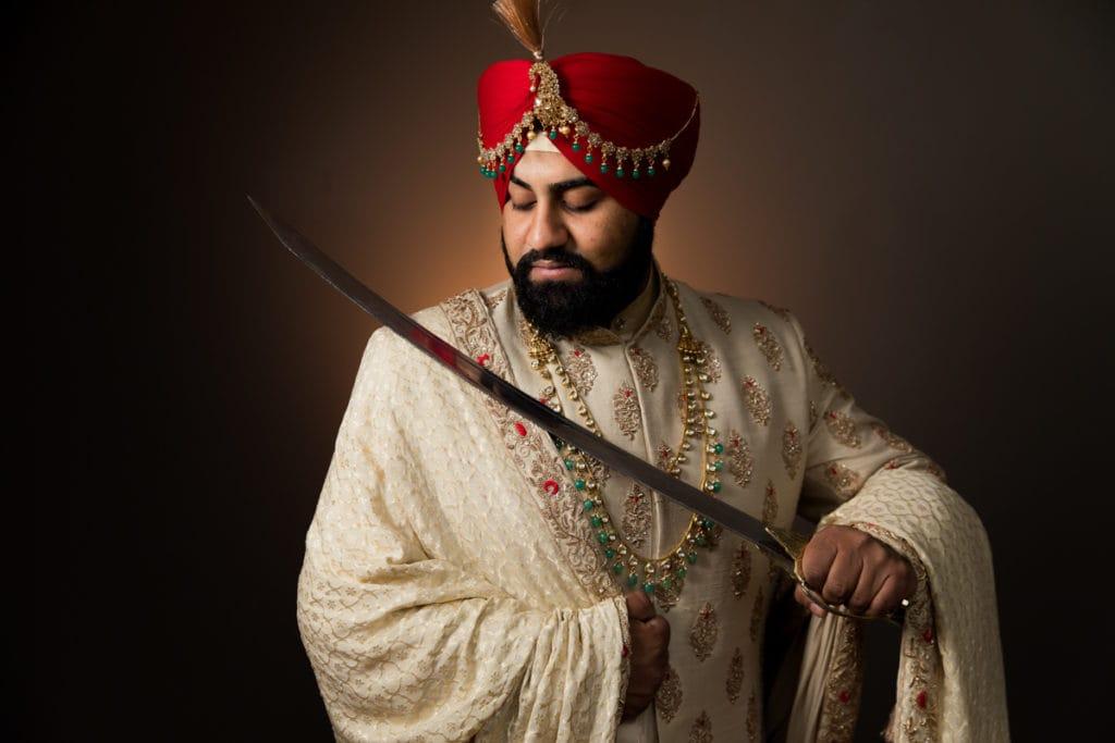 Indian Wedding Turban Tying