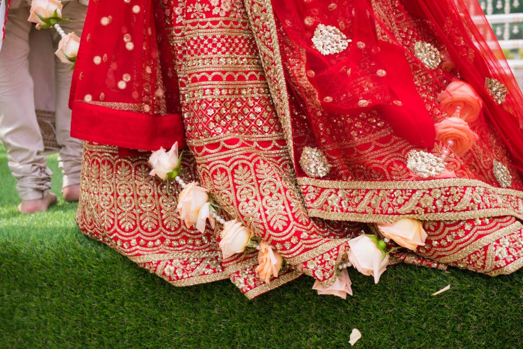 rose palla flower trends for Indian weddings