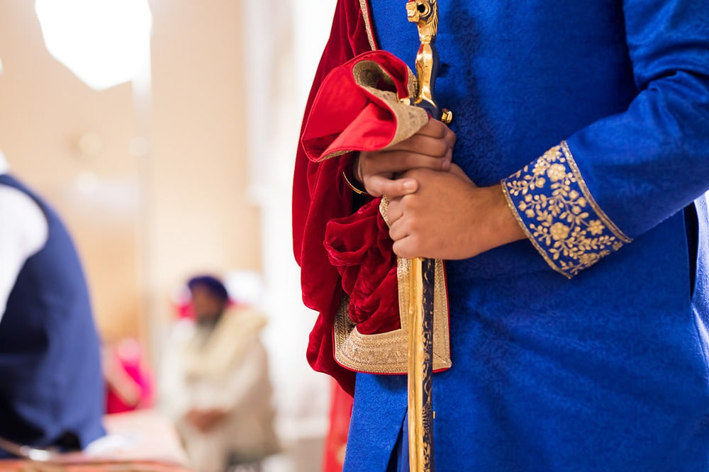 Groom at Scarborough Sikh Gurdwara Toronto