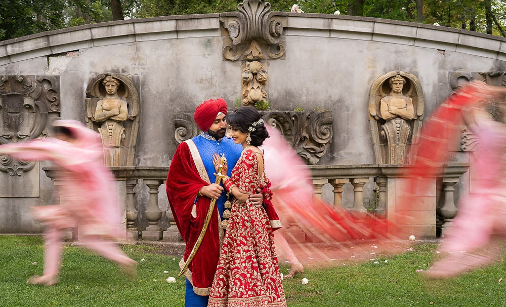 Indian Sikh couple photoshoot Scarborough Toronto