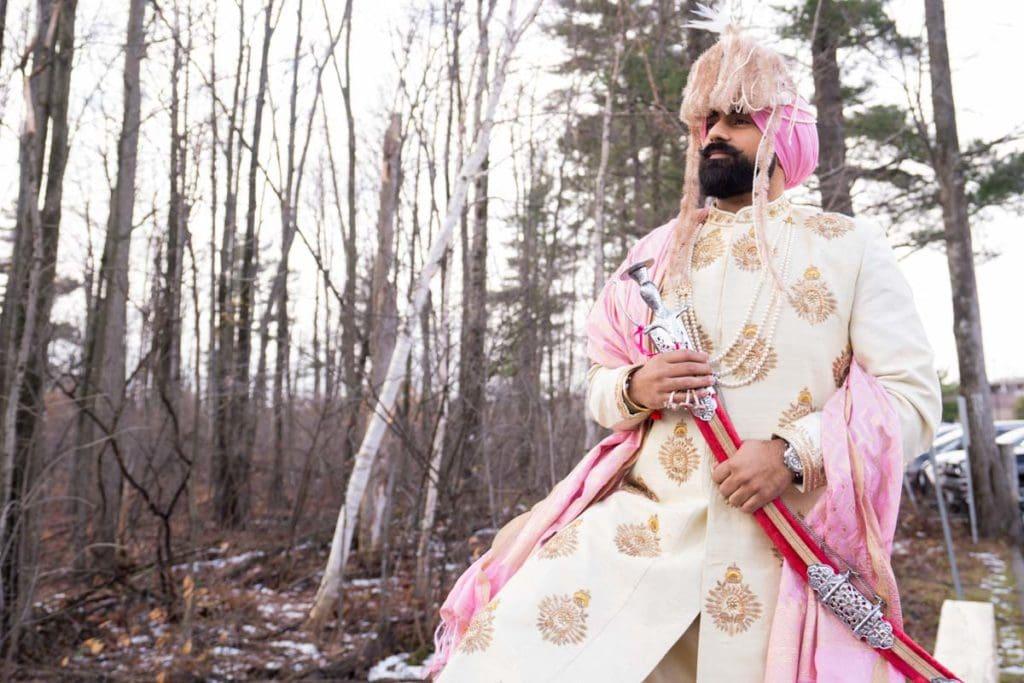 Ottawa Indian Sikh wedding groom
