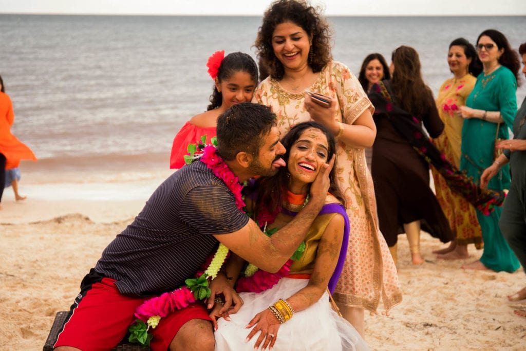 Sangeet in Cancun