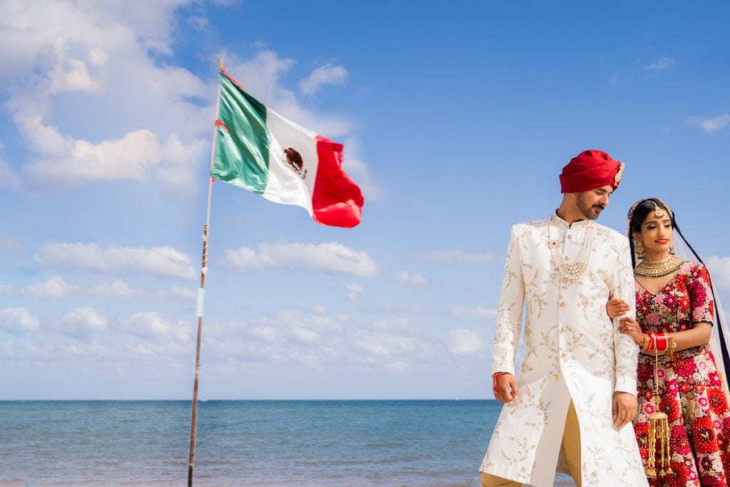 Indian Sikh Wedding Cancun Royalton