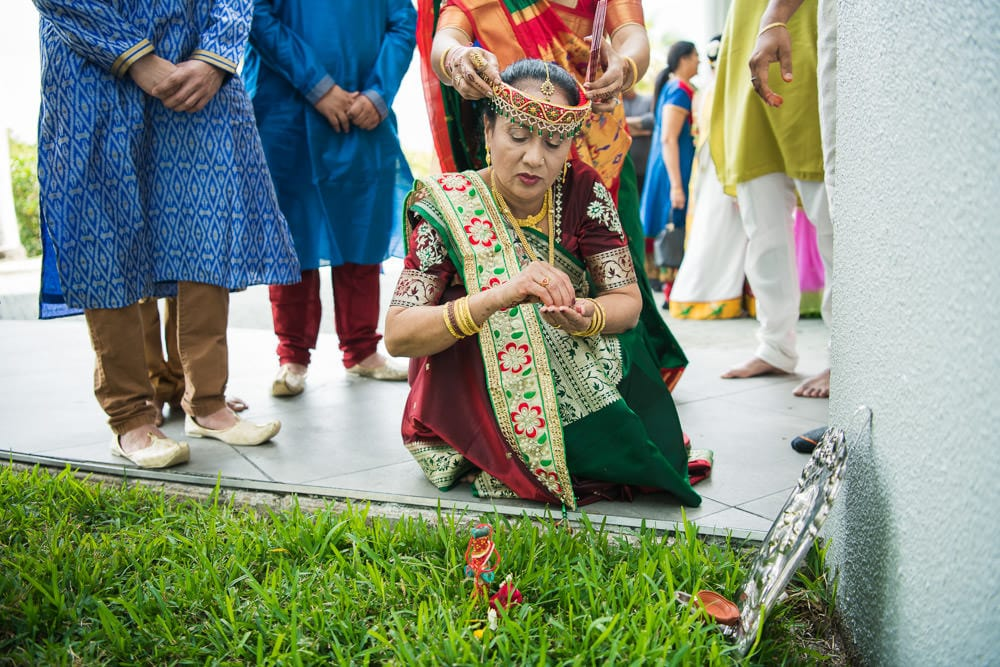 Gujarati vidhi ceremony Toronto Canada Graha Shanti