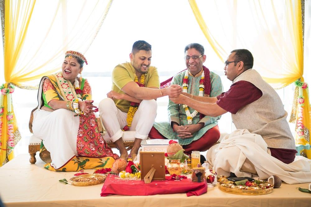 Gujarati vidhi ceremony Toronto Canada Mandva Mahurat