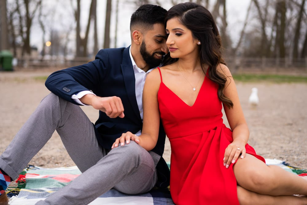 Semi-Formal attire for engagement shoot Toronto. Locations-Engagement-Shoot