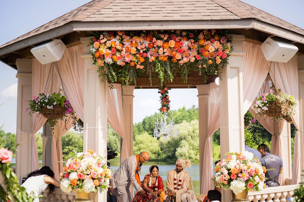 Outdoor Indian Hindu Wedding Ceremony Toronto