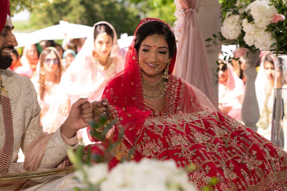 Outdoor Indian Wedding Toronto Canada