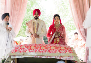 Outdoor Sikh Wedding Ceremony