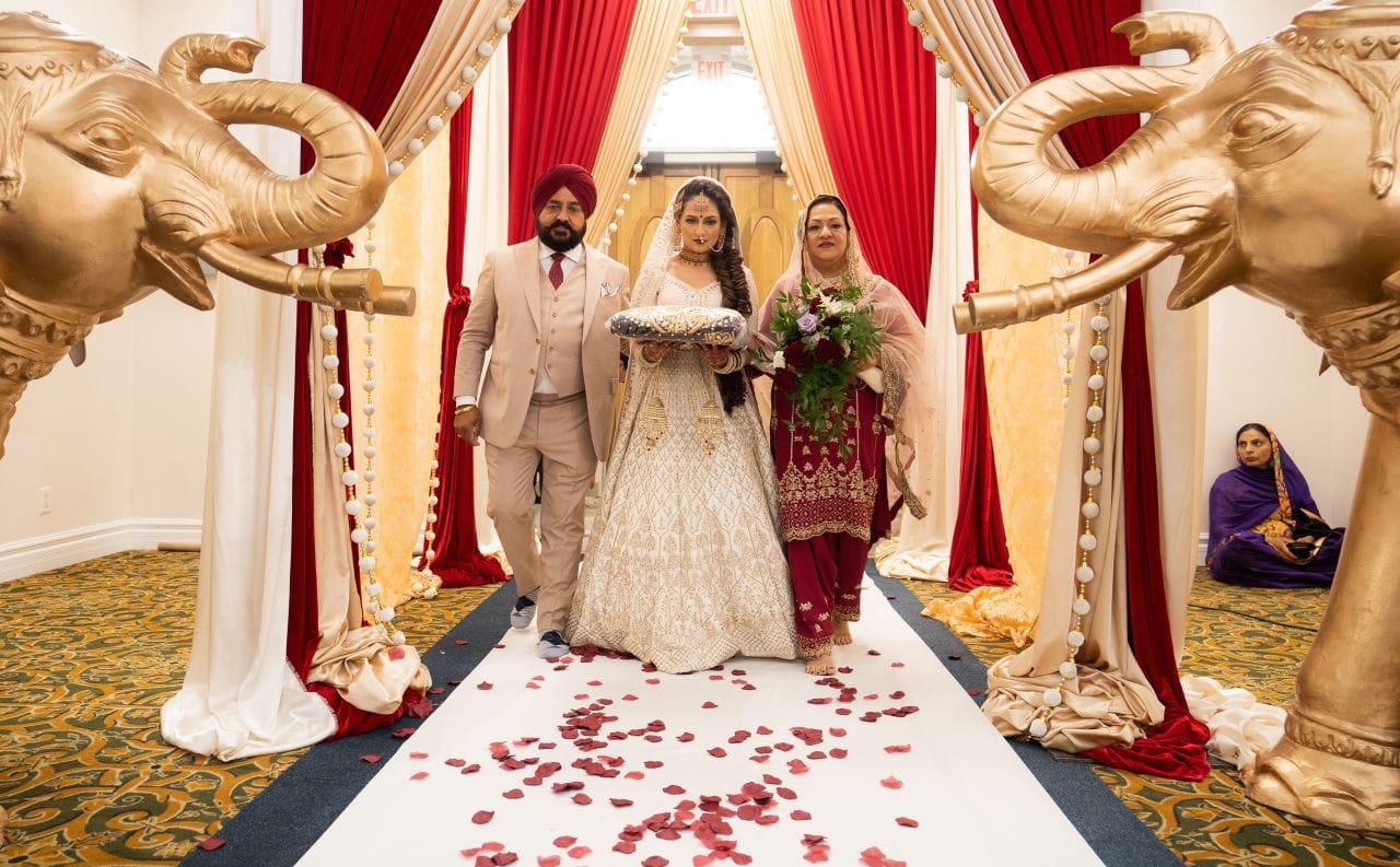 Indian Wedding Gurdwara Ceremony