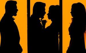 Indian Couple silhouettes Toronto
