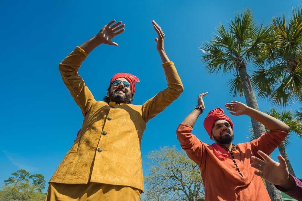Baraat at Hilton Head Indian Wedding