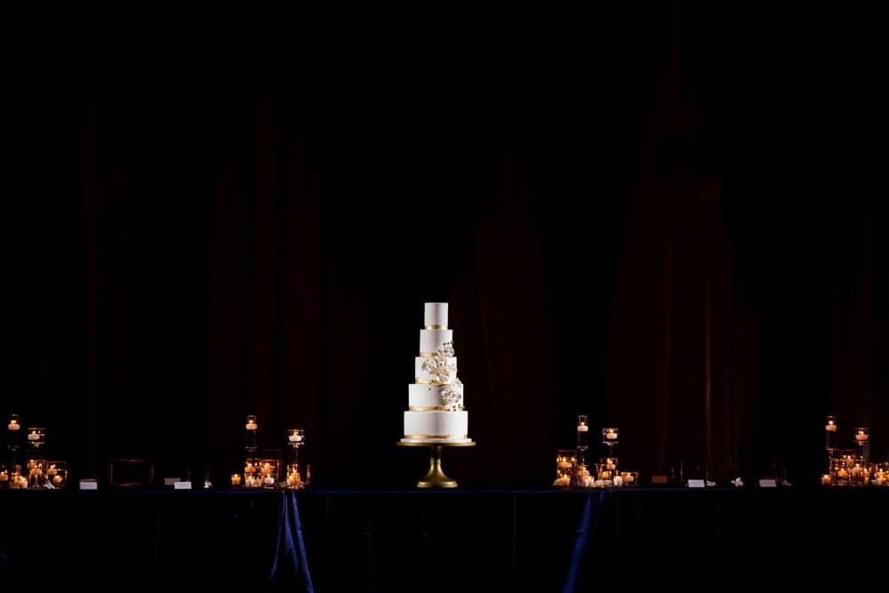 Decor at Hilton Head Indian Wedding Reception
