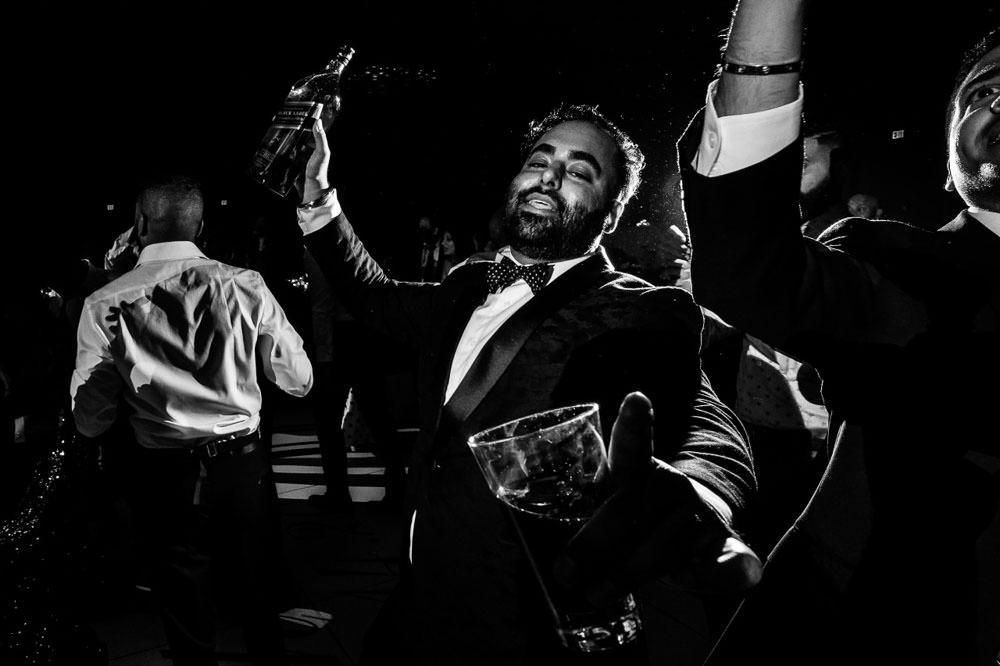Dancefloor at Hilton Head Indian Wedding Reception