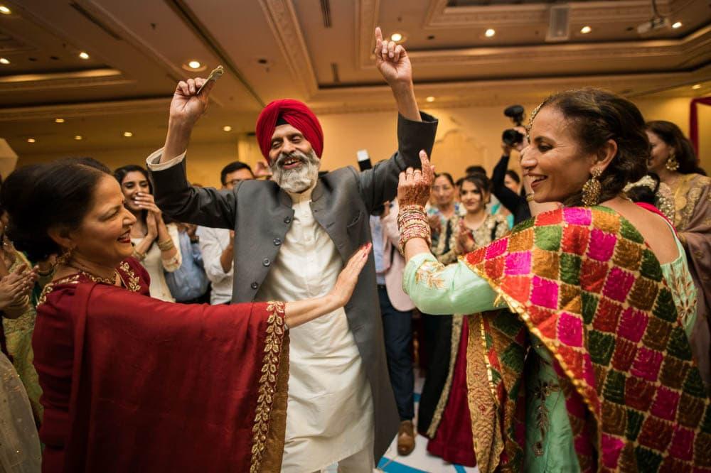 Indian Sangeet Wedding photographer