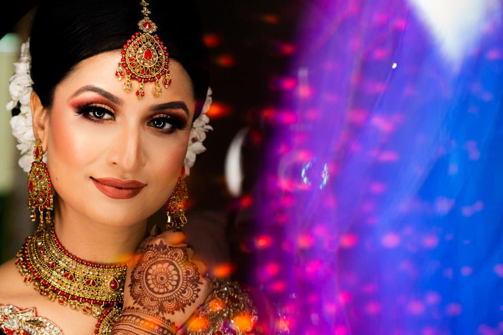 Flawless Skin for the Indian Bride Portraits