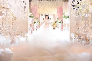 Indian Winter Wonderland Wedding