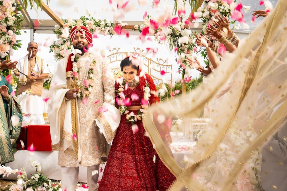 Outdoor Sikh-Hindu Wedding