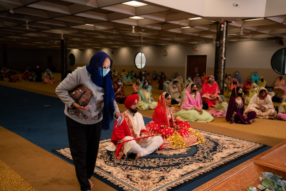 Dixie Gurudwara Wedding