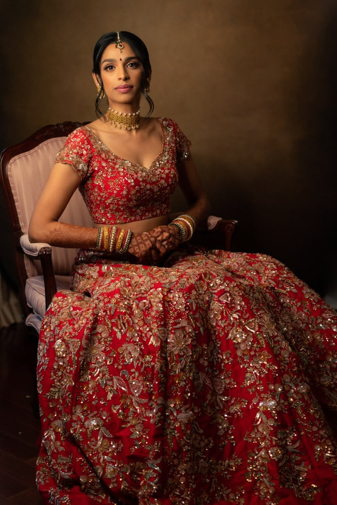 shyamal bhumika bridal lengha