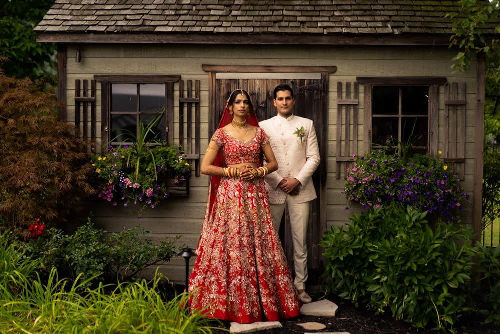 Toronto Backyard Indian Wedding