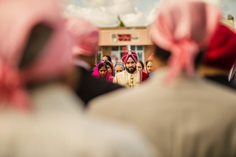 Dashmesh Darbar Ebenezer Gurdwara Sikh Wedding photography