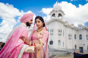 Dashmesh Darbar Ebenezer Gurdwara Sikh Wedding photography